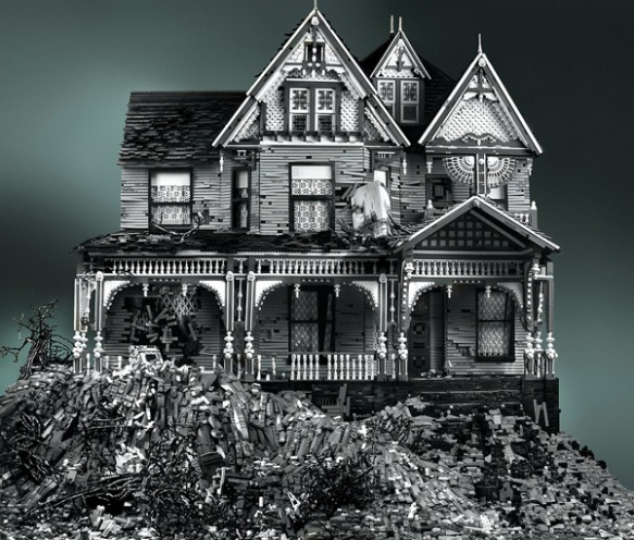 Victorian on Mud Heap (Creator:  Mike Doyle, Source: Mike Doyle Flckr stream, see link in text)