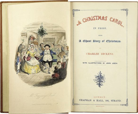 Frontispiece and title page of the first edition, 1843.