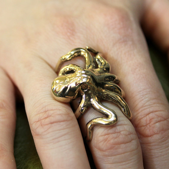 octopus-steampunk-bronze-ring