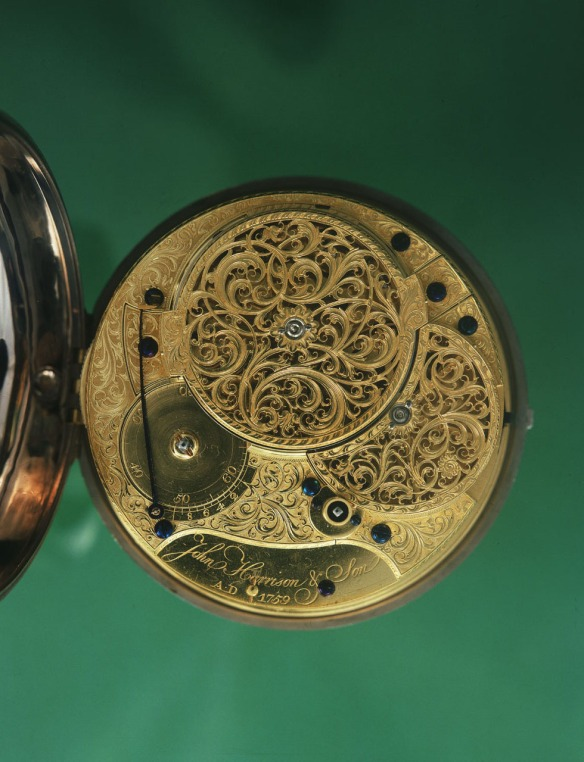 Harrison's H-4, the back of the movement.